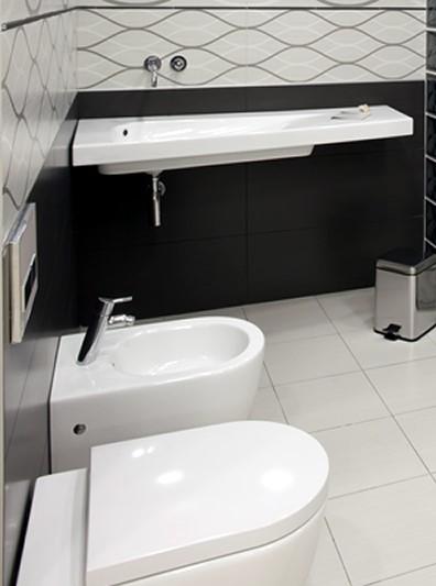 installing bathroom